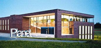 Billede af Planet's nye Hovedkvarter fra 2008