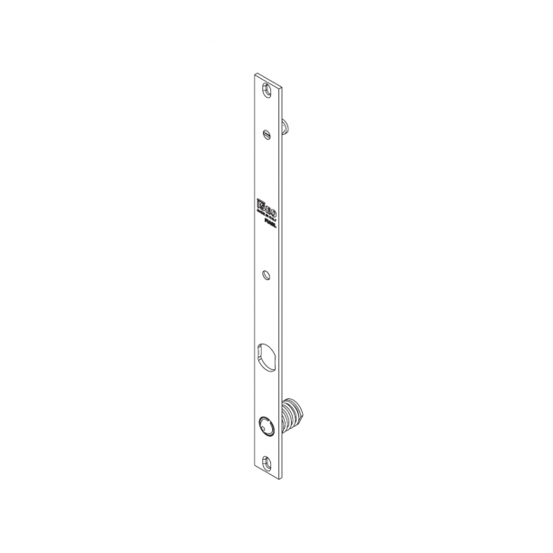 ISEO Thesis 2.0 Slående plade for Standard & Standard låsebolt