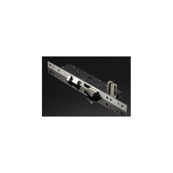 ISEO Electra elektrisk lås i rustfrit stål 22 mm frontplade
